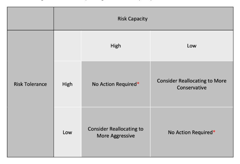 Risk Capacity chart